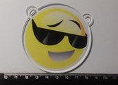 (487) ciondolo smile in plexiglass