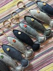 Pescetti portachiavi 🔑 in jeans
