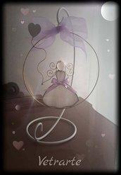 Dolce bambina in vetro