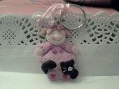 Portachiavi Baby Pink