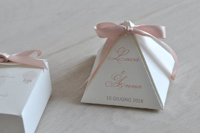 scatola porta confetti matrimonio