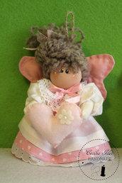 angelo di stoffa rosa