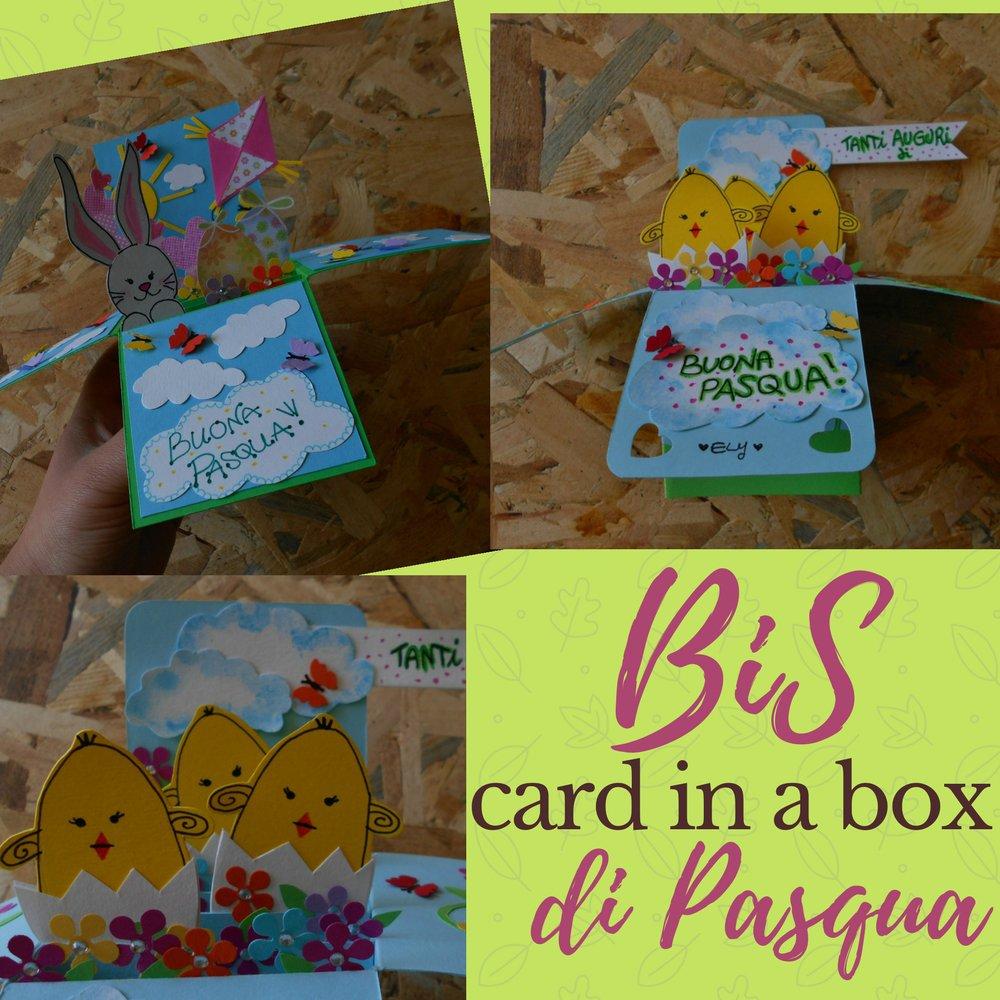 Bis di card in a box pasquali • Biglietto di Pasqua