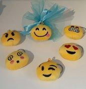 Bomboniere portachiavi emoji