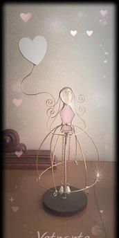Bambola da collezione in vetro