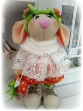Bambola pupazzo Topolina