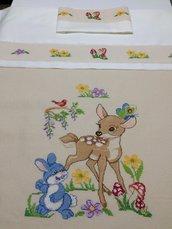 Copertina bambi per neonati