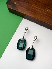 Orecchini Swarovski smeraldo