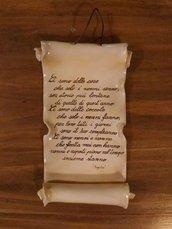 Pergamena in ceramica