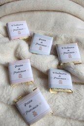 cioccolatini di Modica personalizzabili per battesimi e eventi vari