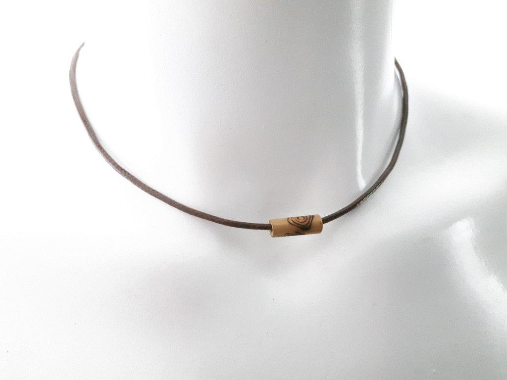 Collana di Cotone coreano - Legno di bambù