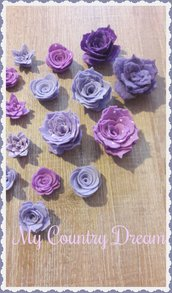 Mix rose viola/lilla
