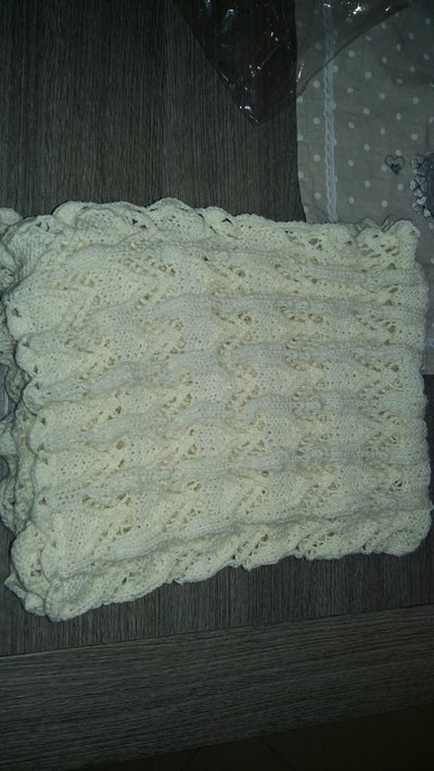 Copertina lana neonato