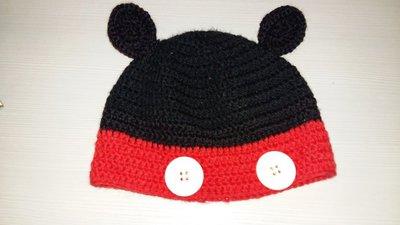 Cappello in lana uncinetto topolino