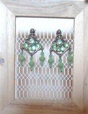 Orecchini in bronzo con pendenti