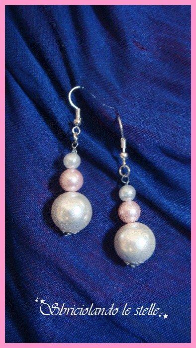 Orecchini Perle Semplici