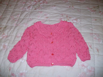 Golfino di lana bimba