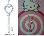 collana chiave simil Tiffany