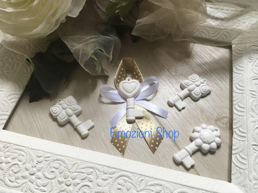 Chiavi Segnaposto Matrimonio.Segnaposto Chiavi Per Piu Occasioni Feste Bomboniere Di