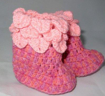stivaletti in lana bimba neonato