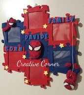 Cornice puzzle Spiderman