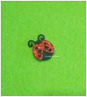 Coccinella fustellato gomma crepla decorazione