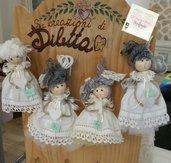 Bamboline da appoggio