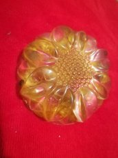 HANDMADE flower RESIN PAPERWEIGHT - Cute Gift Ideas -  resin paperweight - Handmade, fermacarte fatto a mano