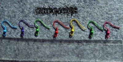 10 pz monachelle colorate
