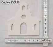 Fustellato Feltro Chiesa DCR39