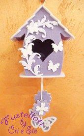 Kit Casetta Uccellini con farfalline