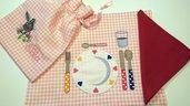tovaglietta asilo metodo Montessori