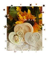 Stampo *Cuore swirl maternità*