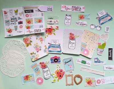 kit handmade scrapbooking