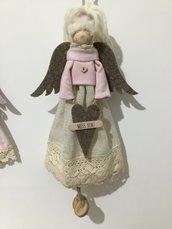 """Bambola decorativa con messaggio """"mi manchi"""""""