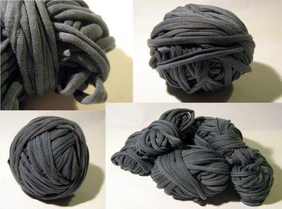 Filato di Jersey liscio grigio n.106 - 4mt