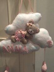 Fiocco nascita nuvola