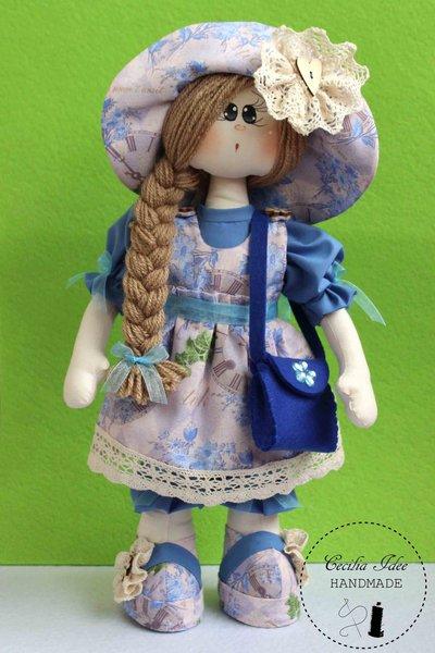Bambola in stoffa Luna