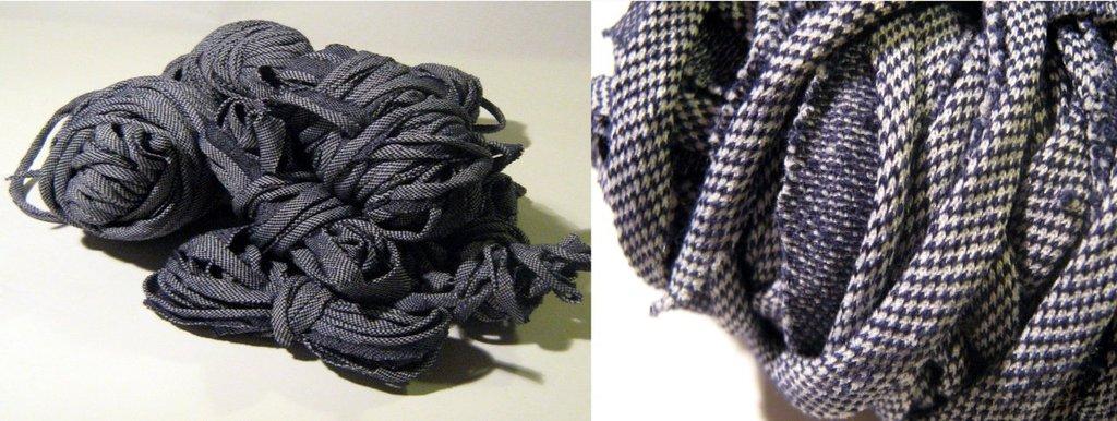 Filato di Jersey jeans blu n.107