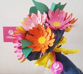 Bouquet gerbere di carta