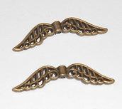 12 distanziali separatori ali angelo bronzo