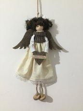 Bambola decorativa con messaggio