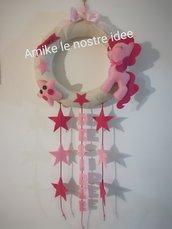 fiocco personalizzato soggetto my little pony
