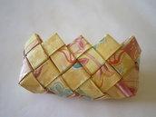 portamonete in carta plastificata