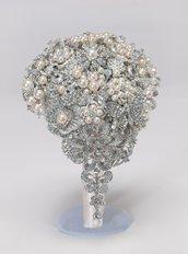 Bouquet gioiello Melissa realizzato a mano