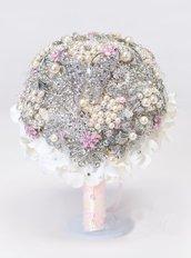 Bouquet gioiello Sara realizzato a mano