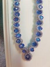 Collana mare blu