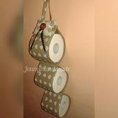 Porta rotoli elegante maxi rotolo carta igienica