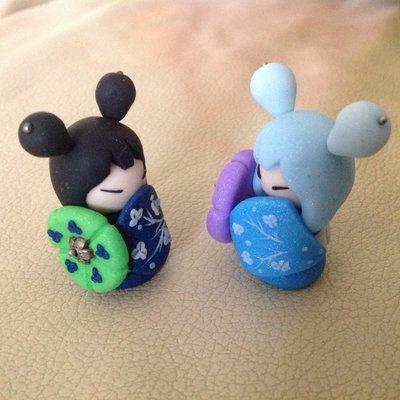 Geisha in Fimo