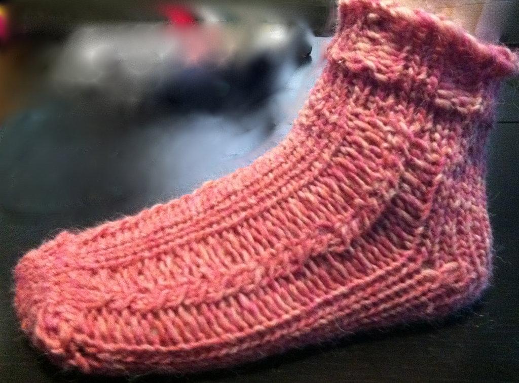 Twisted Merino socks